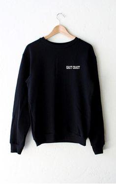 East Coast Oversized Sweatshirt