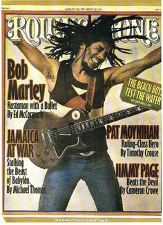 Bob Marley...Rolling Stone Cover 1976