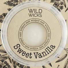Wild Wicks Sweet Vanilla Wildpod Soy Melt