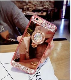 Luxury Diamond Glitter Mirror Case