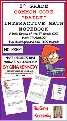 With this resource you will find a rigorous 5th grade daily math review 100% aligned to the 5th Grade Common Core math standards.The students will be given a daily number and complete five different exercises that are directly connected to the 5th grade math Common Core standards using the digits in the number. A fun, challenging way to start the day!$