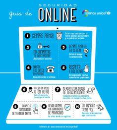 Seguridad online para adolescentes #infografia #infographic #internet