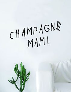 C Mami Quote Big Decal Sticker Wall Vinyl Art Home Decor Teen Quote Girls Inspirational Music Rap Drake