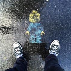 #Selfportrait_tuesday_nonchallenge #converse #fromwhereistand #lego @converse @lego #rain #rainingday Snapchat discret78