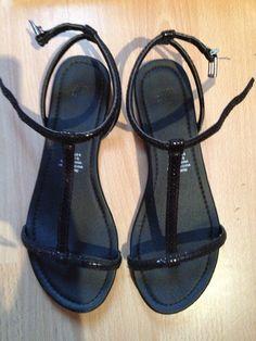 Sandaaltjes - zwart