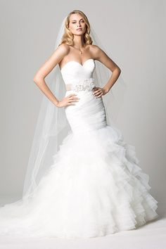 Wtoo Brides Suri Gown    #WTOO #Watters #weddingdress http://www.pinterest.com/wattersdesigns/