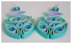 How to Make Quilled - Third Eye Quilled Earrings Tutorial - Modern Quill...