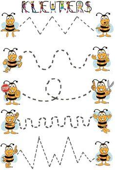 Fall Preschool Activities, Kindergarten Art Projects, Toddler Learning Activities, Brain Activities, Preschool Crafts, Working Bee, Rainbow Cartoon, Art Education Lessons, Bee Cards