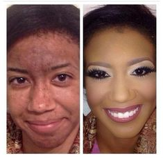 Wow! Look At These Before And After Makeup Photos (11 Photos)