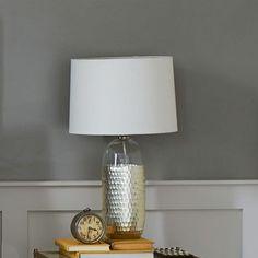 Metallic Honeycomb Table Lamp | West Elm