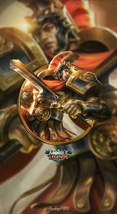 Wallpaper Phone Lapu-Lapu Imperial Champion by FachriFHR on DeviantArt Mobile Legend Wallpaper, Hero Wallpaper, Moba Legends, Legend Games, The Legend Of Heroes, King Of Fighters, Gaming Wallpapers, Best Mobile, League Of Legends