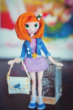 Автор этой очаровательной красавицы - Ирина Шадрина