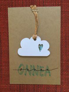 Onnea vauva kortti poika pilvi kuvioleikkuri diy 2017    Congrats congratulations baby boy cloud shape cutter