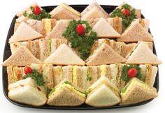 finger sandwiches for baby shower 2