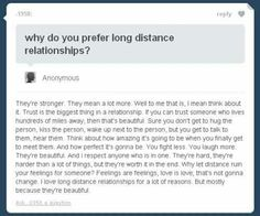 Long distance relationship is beautiful i think..