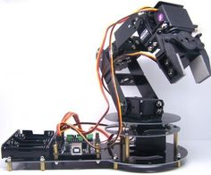 Bluetooth controlled arduino robot arm