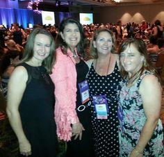 RITA & Golden Heart Awards Ceremony with friends. RWA 2014.