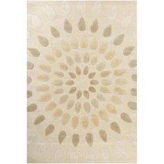@Overstock - Hand-tufted Oleander New Zealand Wool Rug (9' x 13') - Hand-tufted in India, this New Zealand wool rug features an abstract design in shades of beige and light brown against ivory background.    http://www.overstock.com/Home-Garden/Hand-tufted-Oleander-New-Zealand-Wool-Rug-9-x-13/5738004/product.html?CID=214117  $680.99