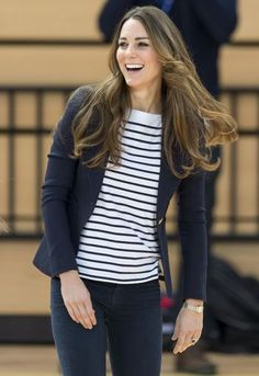Kate Middleton Makes Her First Solo Public Appearance in Months! Here's What She Wore. Duchess of Cambridge Kate Middleton has been laying low over the last few months, ever since the birth of her and Prince William's first child, Prince George. But this morning, Kate made her first solo appearance since July—to meet up with some young athletes at London's Olympic Park for a quick game of volleyball!