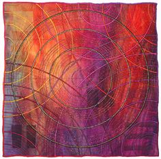 art quilts with fiber and mixed media texture | Click on the photos below to see a larger view. (will open in new ...
