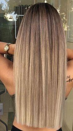 Blonde Hair Looks, Brown Blonde Hair, Bayalage Light Brown Hair, Long Blond Hair, Dark Blonde Hair With Highlights, Beige Blonde Hair Color, Dark Brown Hair With Blonde Highlights, Beach Blonde Hair, Long Ombre Hair