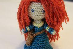 PATTERN Merida Warrior Princess Brave Disney Crochet Doll Amigurumi. $4.95, via Etsy.