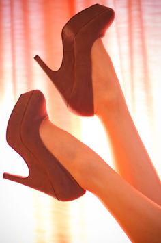 Forever 21 suede pumps / shoe high