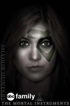 Clary • Shadowhunters Fanmade poster (inspired by #TheHungerGames #FacesOfTheRevolution ) • Kat McNamara