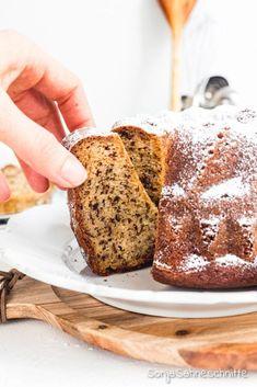 Dessert Recipes, Desserts, Kids Meals, Banana Bread, Food Photography, Food And Drink, Vegan, Baking, Brownies