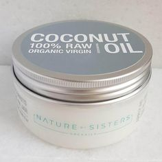 Raw, Organic, Fresh Coconut Oil / Nature by Sisters Raw Organic Coconut Oil, Organic Oil, Sisters, Jar, Fresh, Nature, Naturaleza, Daughters, Off Grid