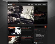Gamemix Blogger Template Blogspot