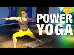 Fitness Master Class - Power Yoga - YouTube