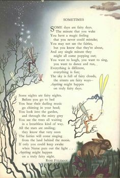Image result for a spell for a fairy alfred noyes