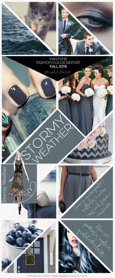 Site Unha Bonita | por Daniele Honorato » Arquivos Pantone Fashion Color Report Fall 2015 Stormy Weather