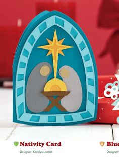 Nativity card from Papercrafts Magazine