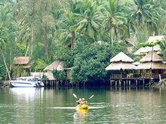 We are off to Koh Kood tomorrow for our first visit.    This is Klong Chao, one of the most beautiful canals of Koh Kood. There is a village locate amidst the rich mangrove forest. Here you can ka...