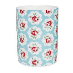 Bathroom   Provence Rose Ceramic Toothbrush Holder   CathKidston