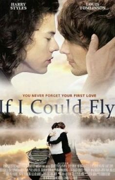 If I Could Fly // movie // starring Harry Styles and Louis Tomlinson aka Larry Stylinson Fanfic Larry Stylinson, Larry Shippers, One Direction Harry Styles, One Direction Pictures, Direction Quotes, I Believe In Love, Louis And Harry, Wattpad, Guy Names