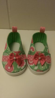 18 Doll Shoes by TrendyThreads12 on Etsy