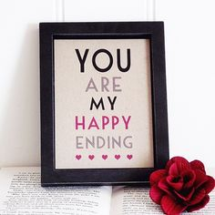 You are my happy ending!