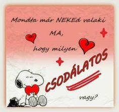 😍😍😍 Snoopy, Birthday Quotes, Karma, Life Quotes, Love, Sayings, Hungary, Friends, Men