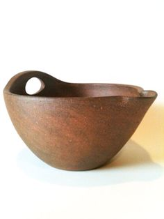 Woodsoda fired earthenware mixing bowl by juliecrosbypottery, $140.00