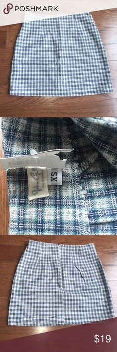 Brandy Melville Blue Plaid Skirt XS Brand new with tags Brandy Melville John Galt Blue Plaid Mini Skirt. Brandy Melville Skirts