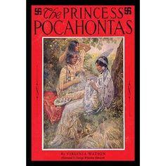 Buyenlarge 'The Princess Pocahontas' by Virginia Watson Vintage Advertisement