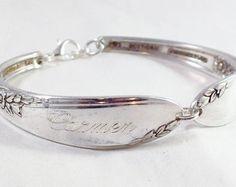 Spoon Bracelet Bridesmaid Bracelet Shabby by MonPetitChouBoutique