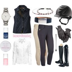 Dark Blue and Pink by bacardiandeq on Polyvore featuring H&M, Ariat, Jack Wills, Roeckl and Kate Spade