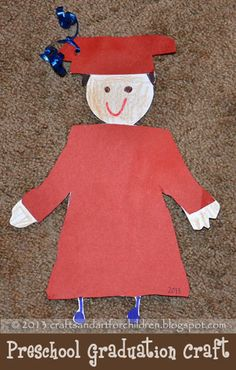 Crafts~N~Things for Children: Preschool Graduation Craft