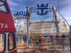 Oasis of the Seas: Boardwalk After Dry Dock | Royal Caribbean @royalcaribbean #cruise