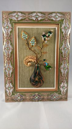 Hey, I found this really awesome Etsy listing at https://www.etsy.com/listing/269513128/vintage-framed-jewelry-art-home-decor