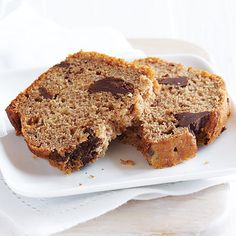 Chocolate Chunk banana bread from clean eating mag